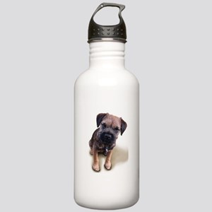 Border Terrier Boy Stainless Water Bottle 1.0L
