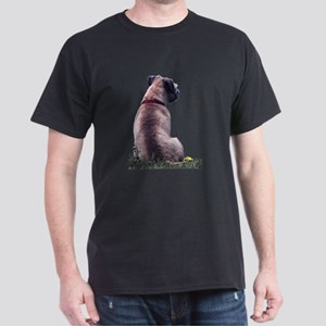 Border Terrier Watching Dark T-Shirt