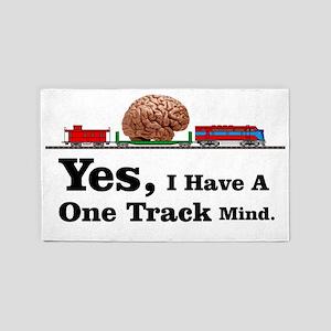 One Track Mind Area Rug