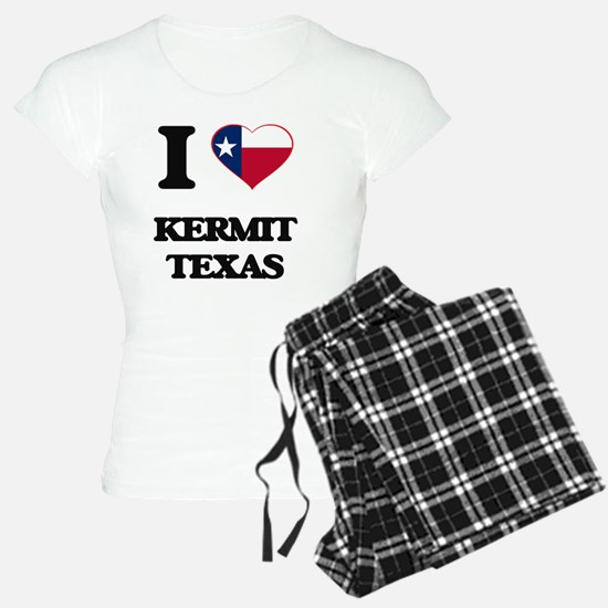 I love Kermit Texas Pajamas