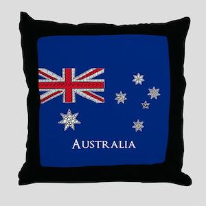 Personalisable Artistic Decorative Au Throw Pillow