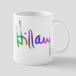 Hillary Rainbow Signature Mug