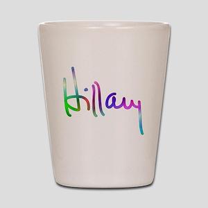 Hillary Rainbow Signature Shot Glass