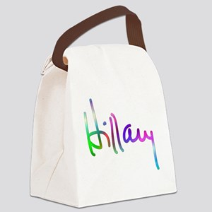 Hillary Rainbow Signature Canvas Lunch Bag