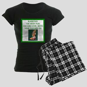 blackjack joke Pajamas