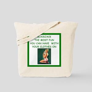 blackjack joke Tote Bag