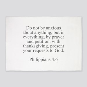 Do not be anxious about anything but in everything