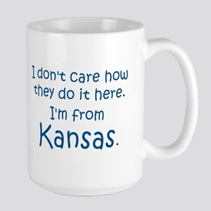 From Kansas Large Mug