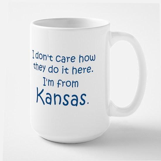 From Kansas Large Mug