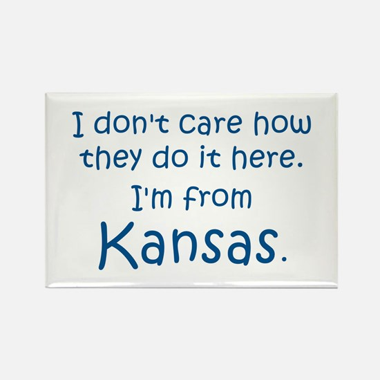 From Kansas Rectangle Magnet