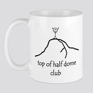 Top Of Half Dome Club Mug