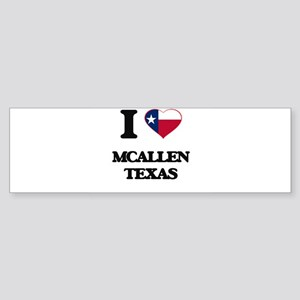I love Mcallen Texas Bumper Sticker