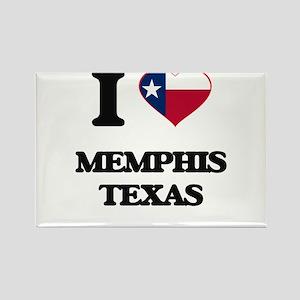 I love Memphis Texas Magnets