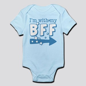 I'm with My BFF (RIGHT) Infant Bodysuit