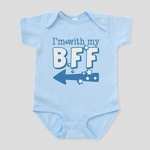 I'm with My BFF (LEFT) Infant Bodysuit