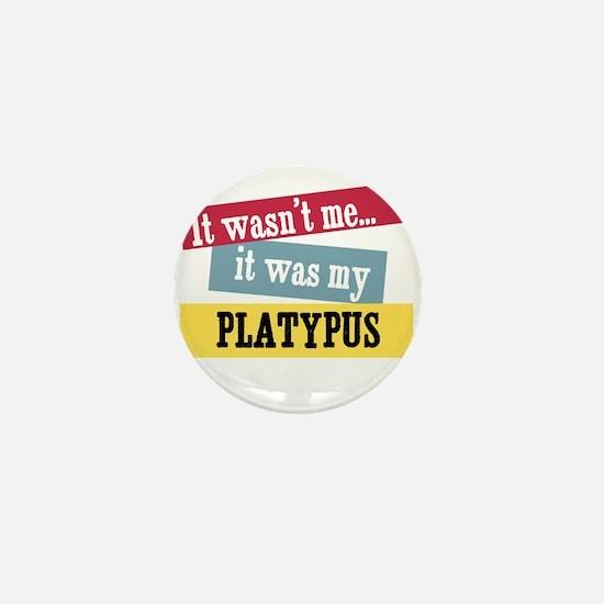 Platypus Mini Button