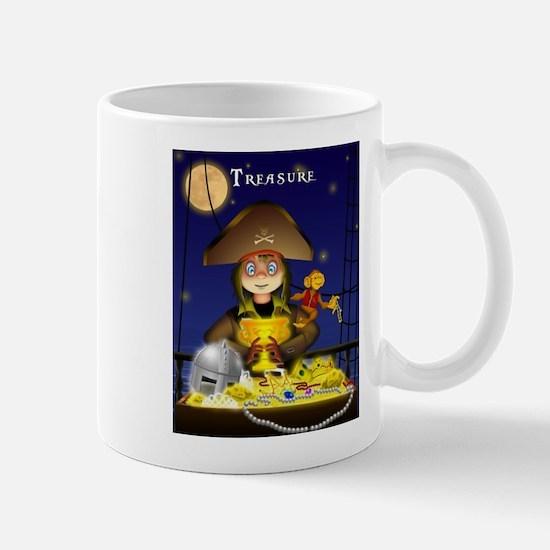 Pirate and Treasure Mugs