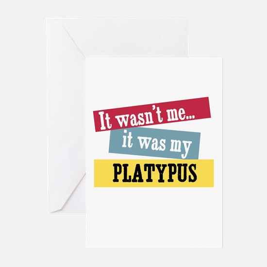 Platypus Greeting Cards (Pk of 10)