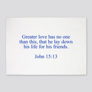 Greater love has no one than this that he lay down