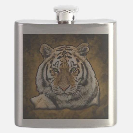 Funny Tiger Flask
