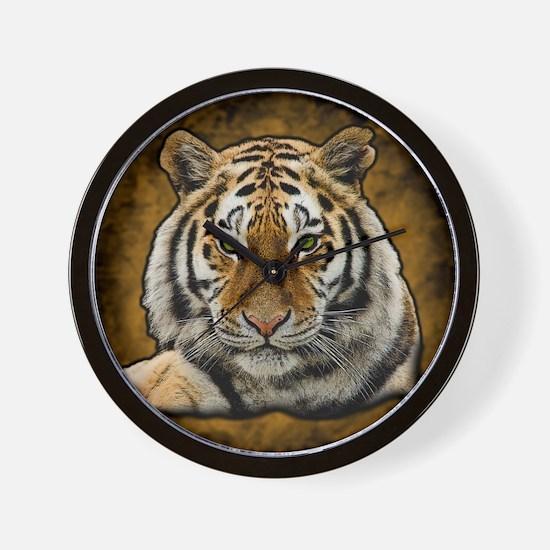 Cute Tiger Wall Clock