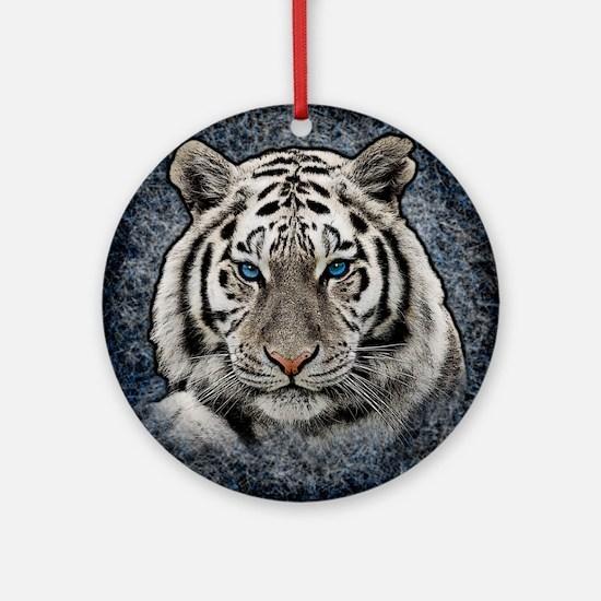 Cute Big cat Round Ornament