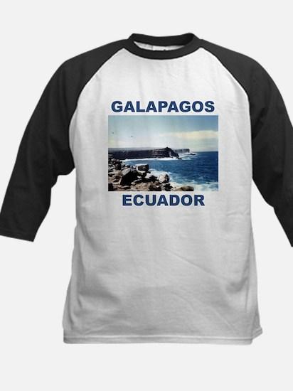 GALAPAGOS ECUADOR Kids Baseball Jersey