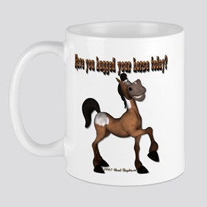 Have you hugged your horse to Mug
