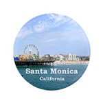 Santa Monica Button