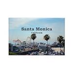 Santa Monica Rectangle Magnet (100 pack)
