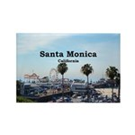 Santa Monica Rectangle Magnet (10 pack)