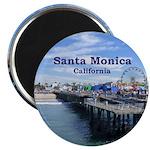 """Santa Monica 2.25"""" Magnet (10 pack)"""