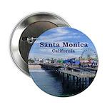 "Santa Monica 2.25"" Button (100 pack)"