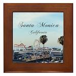 Santa Monica Framed Tile