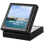 Santa Monica Keepsake Box