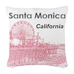 Santa Monica Woven Throw Pillow