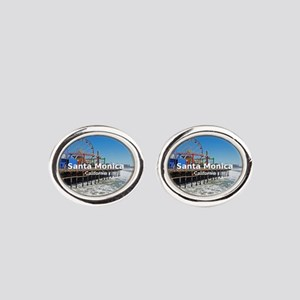 Santa Monica Oval Cufflinks