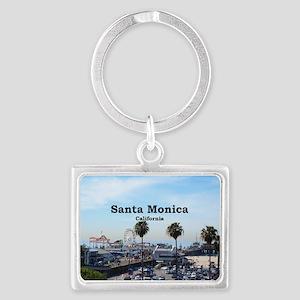 Santa Monica Landscape Keychain