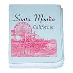 Santa Monica baby blanket