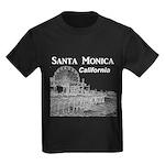 Santa Monica Kids Dark T-Shirt