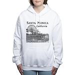 Santa Monica Women's Hooded Sweatshirt