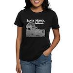 Santa Monica Women's Dark T-Shirt