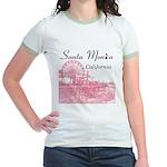 Santa Monica Jr. Ringer T-Shirt