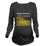 Santa Monica Long Sleeve Maternity T-Shirt