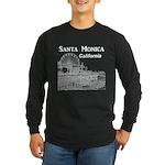 Santa Monica Long Sleeve Dark T-Shirt
