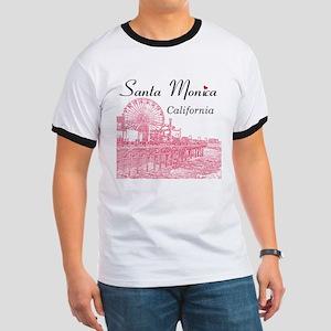 Santa Monica Ringer T