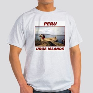 Uros Islands, Peru Light T-Shirt