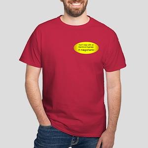 Electrical Engineer Pocket Image Dark T-Shirt