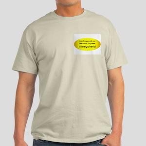 Electrical Engineer Pocket Image Light T-Shirt