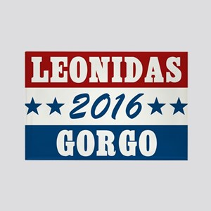 300 Vote For Leonidas / Gorgo Rectangle Magnet